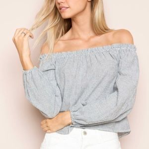NWOT Brandy Melville Theia Top
